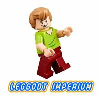 LEGO Minifigure - Shaggy open mouth grin - Scooby Doo minifig scd003 FREE POST