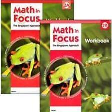 Grade 2 Math in Focus Student Workbook Set 2A & 2B Singapore Approach 2009