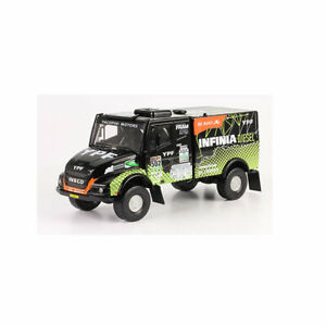 1/43 Iveco Power 502 Rally Dakar 2017 Car Truck Diecast Team Rooy Rare Ural New