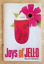 Vintage Joys of Jell-O Gelatin Dessert Recipe Booklet 11th Edition