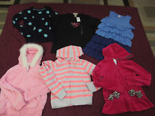 Gymboree clothing lot hoodies jackets sweater dress size 10-12