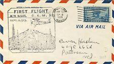 1929 First Flight Air Mail Spokane Washington Sept 15, 1929 with 5c blue stamp