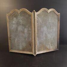 Grille protection pare feu accessoire cheminée cuivre bronze art déco N3959