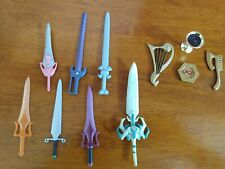 MOTU He-Man Lot of (11) Weapons Accessories Masters of the Univ COLLECTIBLES