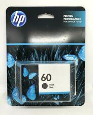 HP 60 Original Black Ink Cartridge New Exp 6/21