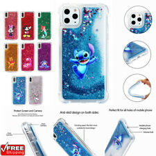 Cute Cartoon Disney Cover Glitter Quicksand Phone Case For 5s 11 Pro Max 6s 7 8