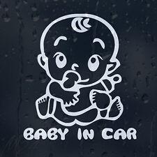 Bebé en coche decal Vinilo Adhesivo Para Ventana O Panel o parachoques