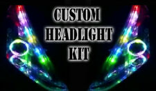 LED RGB faro halo Angel Eye Drl luz remoto para CHEVROLET MATIZ