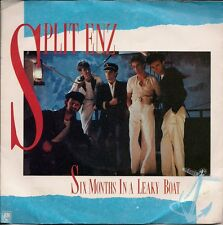 "Split Enz Six Months In A Leaky Boat UK 45 7"" sgl +Pic Slv +Make Sense Of It"
