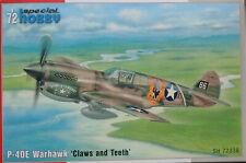Special Hobby 1/72 SH72338 Curtiss P-40E Warhawk (Kittyhawk Mk Ia) model kit
