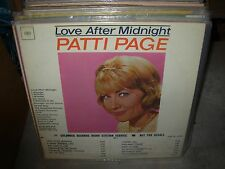 PATTI PAGE love after midnight & waltz queen ( jazz ) - 2 LP LOT - PROMO -