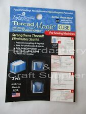 TAYLOR SEVILLE THREAD WAX 2 SMALL MAGNETIC BASE CUBE STICK ON MACHINE