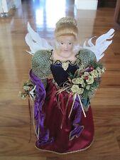 Angel Rachel 1997 Victorian Christmas Figurine Sandy Dolls Inc.