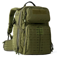 Mt Military Rucksack Molle Tactical Assault Backpack 3 Day Pack Olive Drab