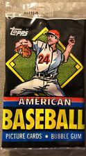 1988 Topps UK Minis American Baseball Pack Ryne Sandberg Cubs Wally Joyner Angel