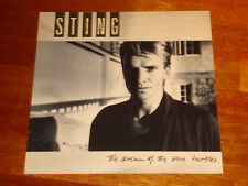 STING The Dream of the Blue Turtles ORIG 1985 A & M Records LP 393750-1 NM OIS