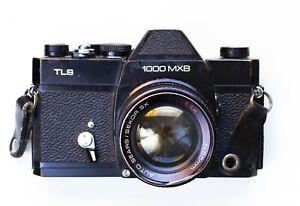 1000 MXB w/ SX 55mm f1.4 Lens SLR Film Camera - Non tested