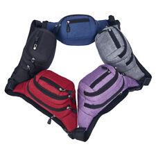 Unisex Shoulder Bag Sling Chest Fanny Pack Crossbody Handbag Messenger Pouch