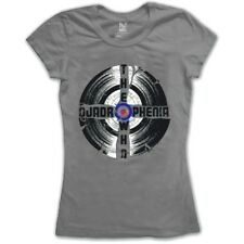 The Who Women's Quadrophenia Short Sleeve T-shirt, Grey, Size 8 (manufacturer -