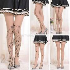 Cute Women Animal Tail Gipsy Mock Hosiery Pantyhose Tattoo Tights Stocking