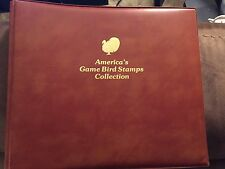AMERICAS GAME BIRD STAMPS COLLECTION 1992 in Book