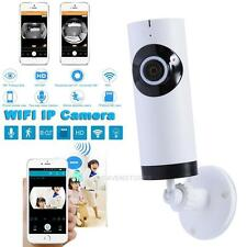 Panoramic View Home Security IP Camera WiFi CCTV Monitor For Smart Cell Phone PC