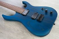 Skervesen Mirage 6 Electric Guitar Rosewood Santos Fretboard Swamp Ash Body Blue