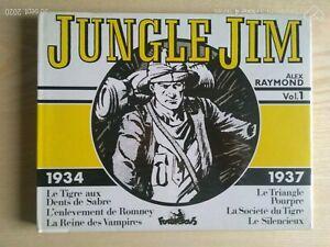 Jungle Jim By Alex Raymond Vol. 1 1934/37 Cube 1982