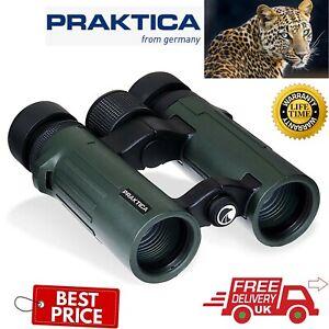 Praktica 8x34mm Pioneer Waterproof Binoculars CDPR834G (UK Stock)