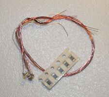 5 Stück SMD Blink LED 0805 am Draht- Farben nach Wahl, Modellbau, Beleuchtung