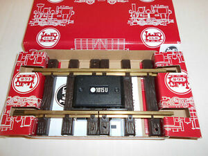 LGB - INSULATED STRAIGHT TRACK SECTION  #10153 - G TRAIN NEW IN BOX