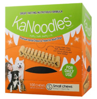 Dog Food Kanoodles Premium dental Chew and Treats for adult dogs for Small dogs