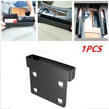 1X Car Truck SUV Seat Gap Catcher Storage Box Organizer Coin Console Side Pocket