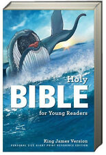 KJV Bible for Young Readers, Hardcover (2016, Hardcover) easy to read 12.5 font