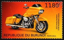 HARLEY DAVIDSON FLTRX Road Glide Custom Cruiser Motorbike Stamp (2012)