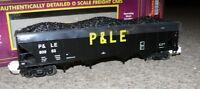 HS MTH 20-02062E Hopper Car m. Kohle Pittsburgh & Lake Erie 80994 SP O ungenutzt