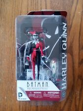 """Batman The Animated Series Harley Quinn DC Collectibles 6"""" Figure bent card NEW!"""