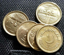 2006 PAKISTAN Two Rupee Brass coin, 5pcs dia22.5mm UNC(+FREE 1 coin)#D6222