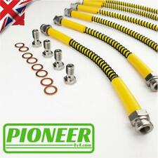 TOYOTA LANDCRUISER KDJ 120 SERIES Braided Stainless Steel Brake Hose Kit