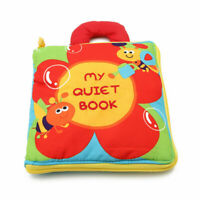 Kids Intelligence Development Toy Cloth Bed Cognize Books Educational Toy