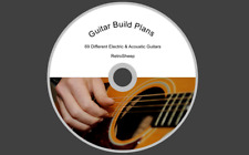 GUITAR TEMPLATES PLANS DIY BUILD YOUR OWN ELECTRIC ACOUSTIC BASS GIBSON FENDER