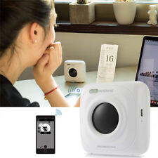 Mobile Printer Phone Wireless Bluetooth Remote Photo Printer Thermal Printer New