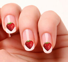 20 Nail Art Decals Transfers Stickers #163 -  Strawberry