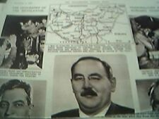 magazine picture article hungary uprising russian oppression 3 pages