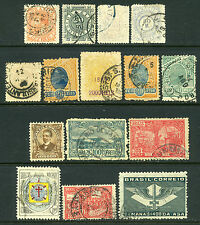 Brazil Collection of 15 Stamps 1884 to 1941 All Used Very Nice Lot! |