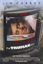 """THE TRUMAN SHOW Movie Poster [Licensed-NEW-USA] 27x40"""" Theater Size Jim Carrey"""