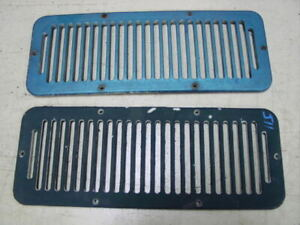 72-90 Jeep CJ 6 hole cowl grille cover cold air intake plastic wrangler
