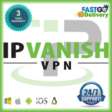 IPVANISH VPN 💥 5 DEVICES 💥 3 YRS WARRANTY 💥 AUTO RENEW 💥 FAST SHIPPING💥