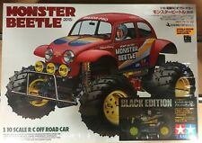 Tamiya 1 10 RC Monster Beetle negro Edición 47419 kit Construcción