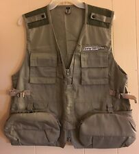 SONY SBT PRO Travel Photography Camera Carry Safari Fishing Zip Vest Size XL NEW